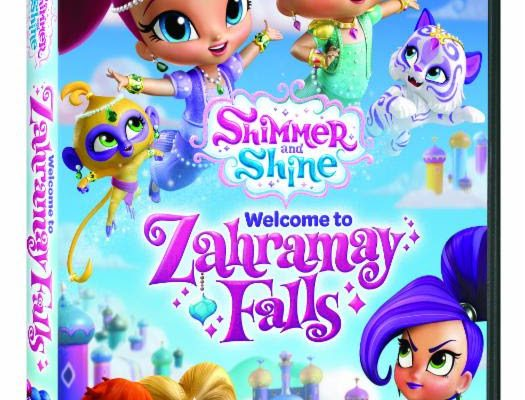 shimmer and shine welcome to zahramay falls dvd